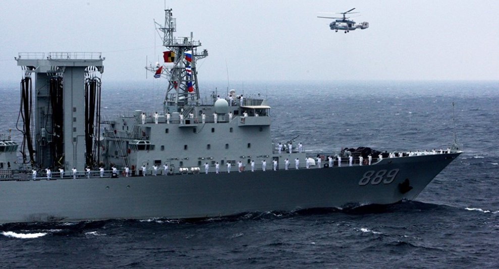 Russian-Chinese naval drill Joint Sea 2015 II in Vladivostok