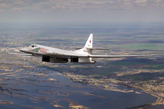 A Tupolev Tu-160 Blackjack strategic bomber