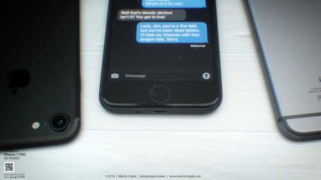iPhone 7 negro y plateado