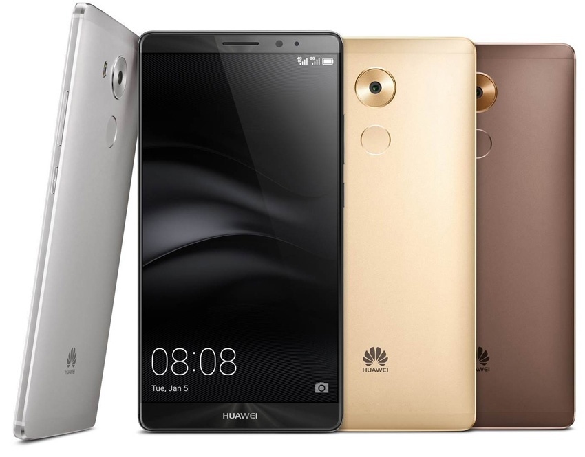 Huawei Mate 8 en distintos colores