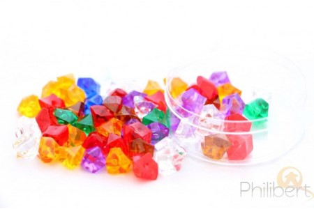 gemmes multicolores