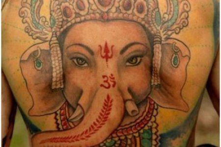 indian gods tattoos