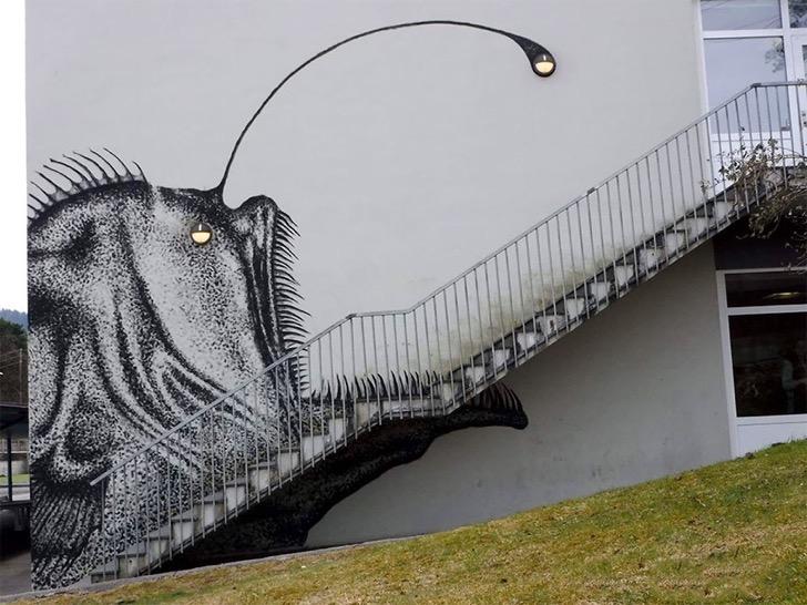 anglerfish-stair-steps-skurk-bergen-norway-2