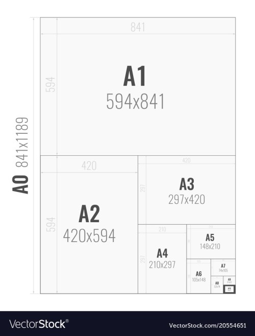 Medium Of Photo Paper Sizes
