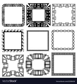 Small Of Greek Key Pattern