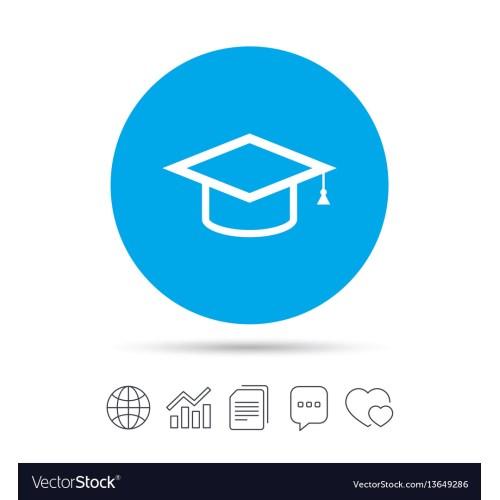 Medium Crop Of Blue Graduation Cap