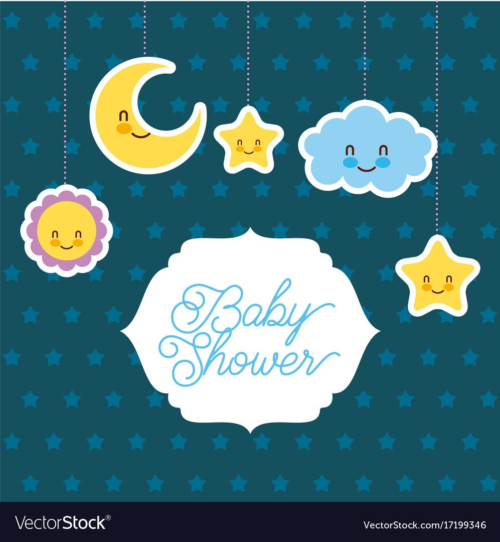Fullsize Of Baby Shower Card
