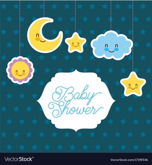 Medium Of Baby Shower Card
