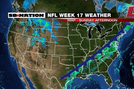 nfl weather forecast, week 17 rainy weather in the