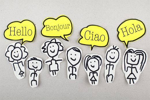 Creating multilingual websites