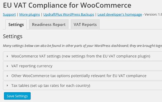 EU Vat Compliance plugin for WooCommrce