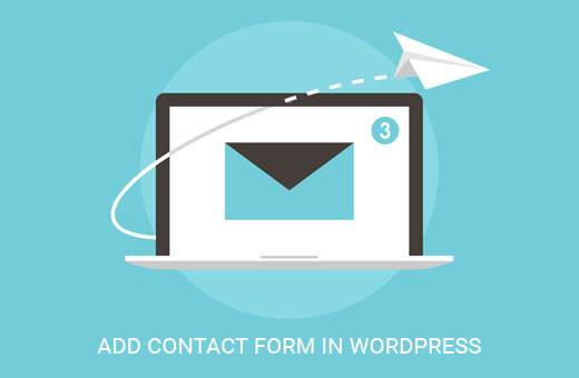 Create contact form in WordPress