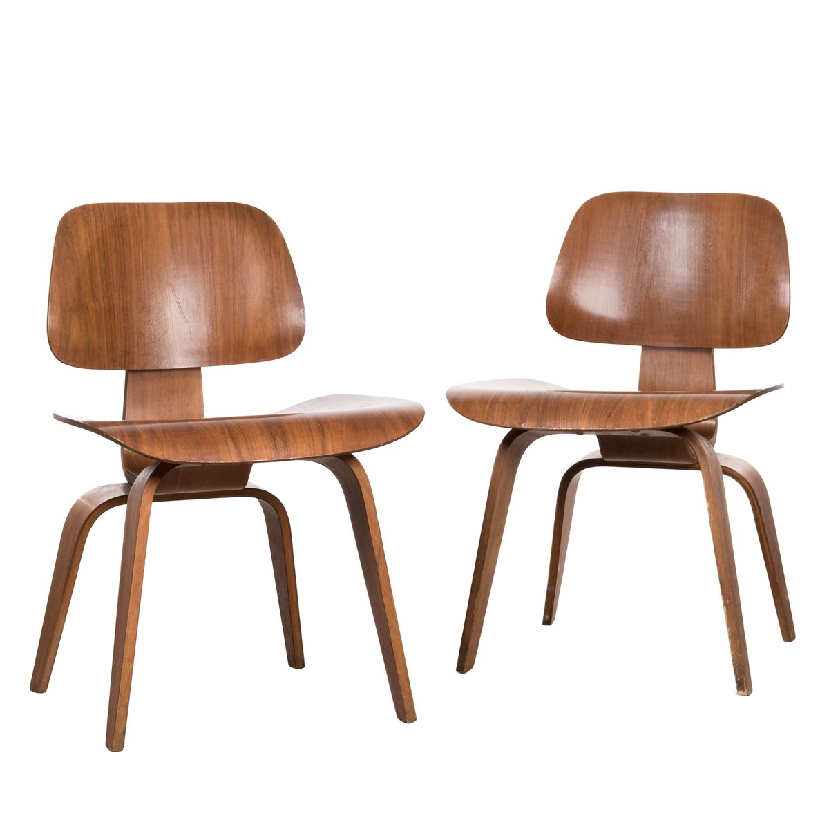 Pretty Dcw Walnut Plywood Chair By Charles Ray Eames Herman Eames Chair Upholstered Eames Chair Dsw Herman Dcw Walnut Plywood Chair By Charles Ray Eames houzz 01 Eames Dining Chair