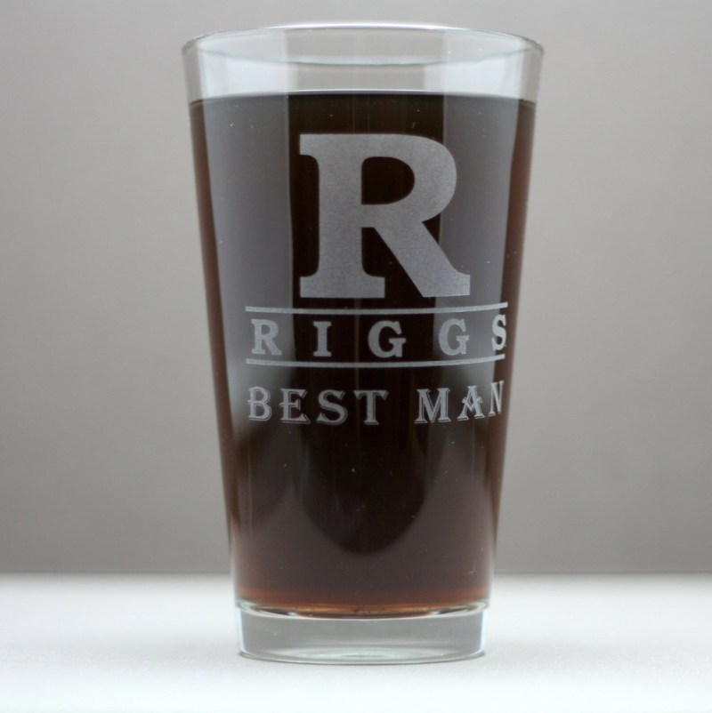 Large Of Personalized Pint Glasses
