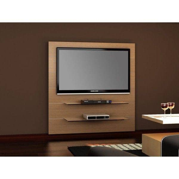 Tv Encastrable Meuble Tv Encastrable Design Rangement Cd Tiroir