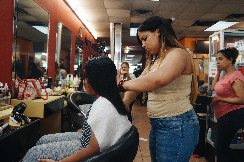 En Fantasy Hair Spa, un gran número de las clientas son niñas.