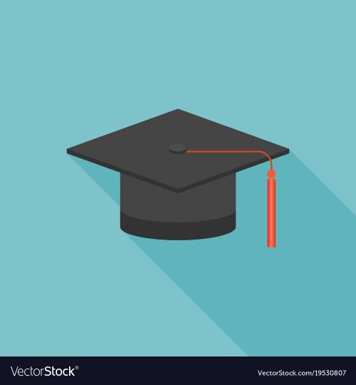 Medium Of Graduation Cap Icon