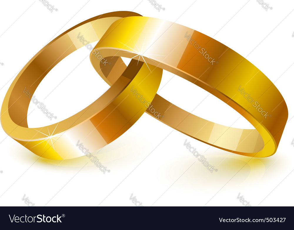 Considerable Hers G Wedding Rings Vector Image G Wedding Rings Royalty Free Vector Image Vectorstock G Wedding Rings Sets G Wedding Rings His wedding rings Gold Wedding Rings