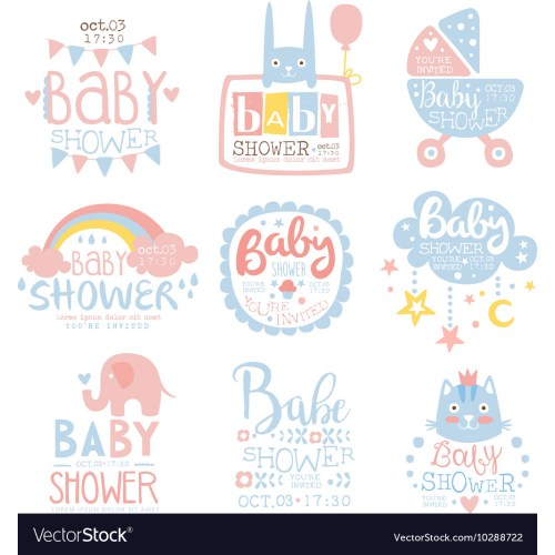 Medium Crop Of Baby Shower Invitation Template