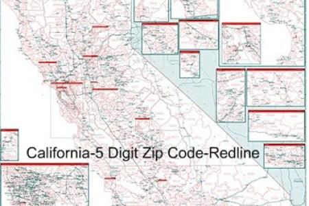 Map Of Southern California Zip Codes - A california zip code