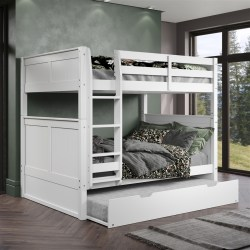 Small Of Bunk Bed With Trundle