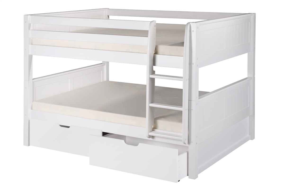 Natural Drawers Larger Photo Full Over Full Low Bunk Bed Drawers Panel Low Bunk Beds Desk Low Bunk Beds Ikea Low Bunk Bed houzz-03 Low Bunk Beds