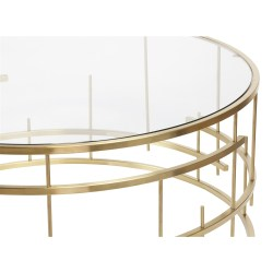 Small Crop Of Gold Coffee Table