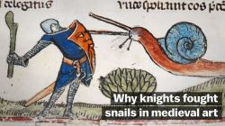 Simple Medieval Art Fought Snails Vox Weird Medieval Art Tumblr Weird Medieval Art Memes This Video Explains Why Knights