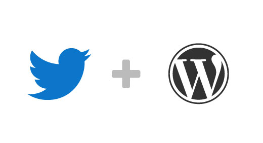 Twitter + WordPress