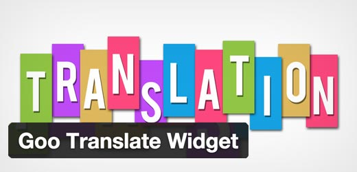 Goo Translate Widget