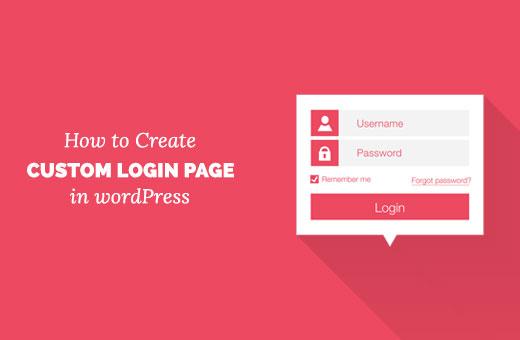 Creating a custom login page for WordPress