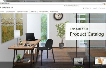autodesk online 3d interior perspective rendering