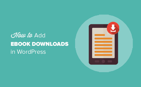 How to add ebook downloads in WordPress