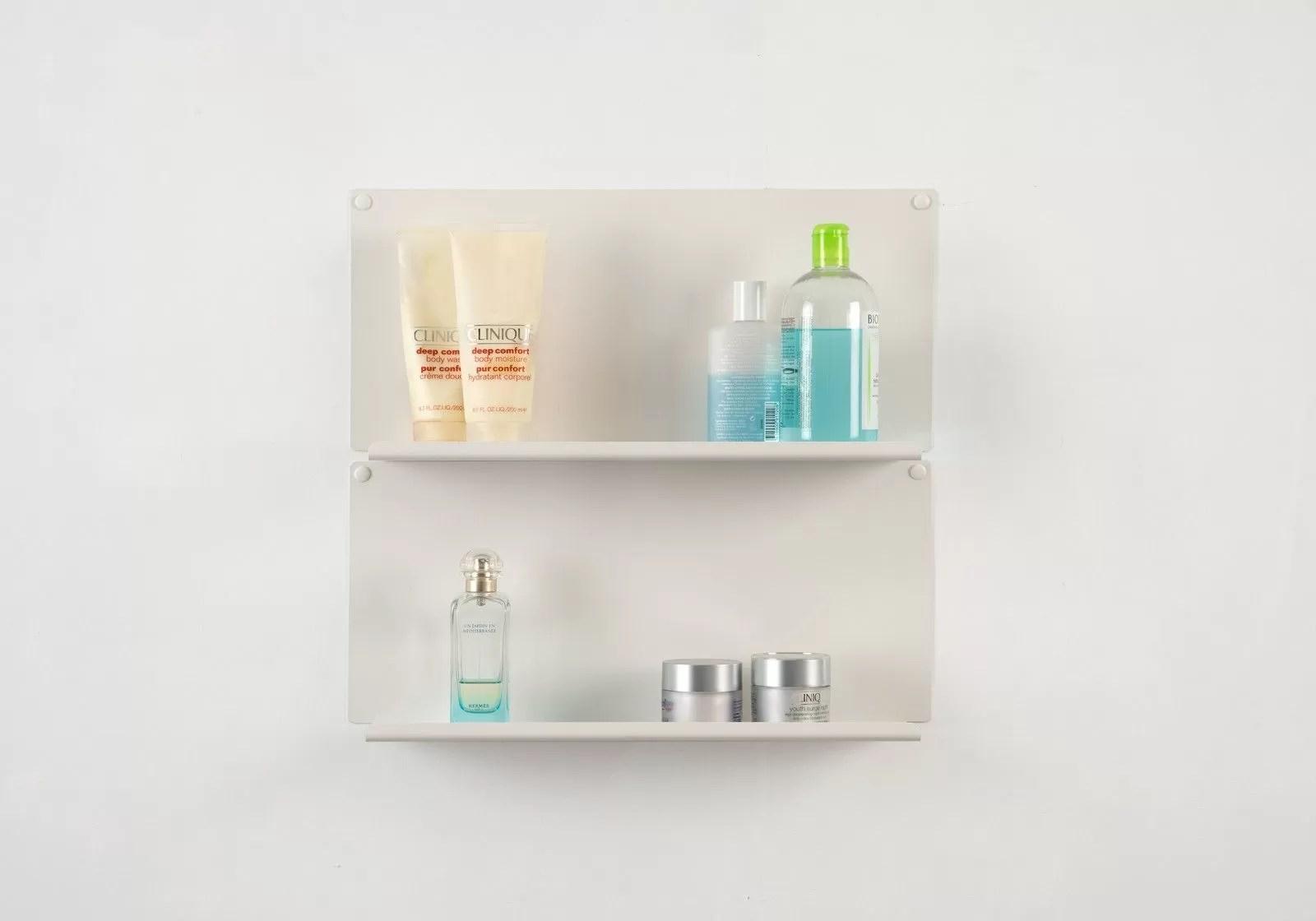 Fullsize Of Bathroom Mounted Shelves