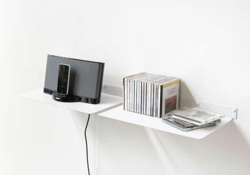 Prodigious 2 Steel Electronic Wall Shelf Electronic Wall Shelving Wall Shelf Teeline 2545 Cm Set