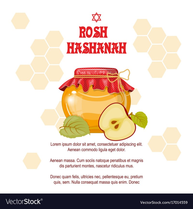 Large Of Rosh Hashanah Cards