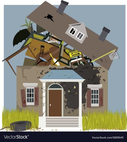 Prodigious Sale Uk Run Down House Interior M On A Rundown House Vector Image M On A Rundown House Royalty Free Vector Image Run Down Houses
