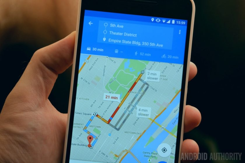 Google Maps just got a bunch of new voice commands   Android Authority Google Maps multi stop directions 2