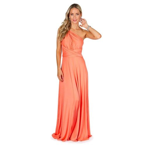 Medium Crop Of Peach Bridesmaid Dresses