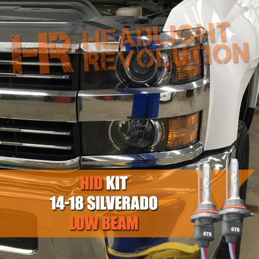 2014   2018 Chevrolet Silverado 2500HD 3500HD Low Beam HID     Vehicle Specific