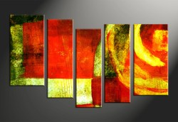 Small Of Abstract Canvas Art