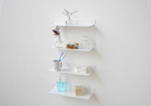 Medium Of Wall Bathroom Shelves