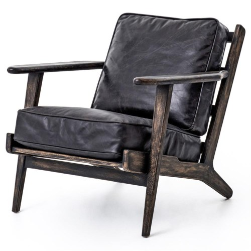 Medium Of Leather Lounge Chair