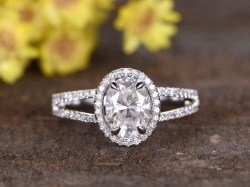 Small Of Oval Engagement Rings