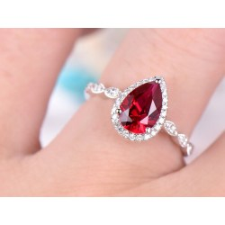 Small Crop Of Ruby Engagement Rings