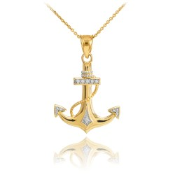 Small Crop Of Diamond Pendant Necklace