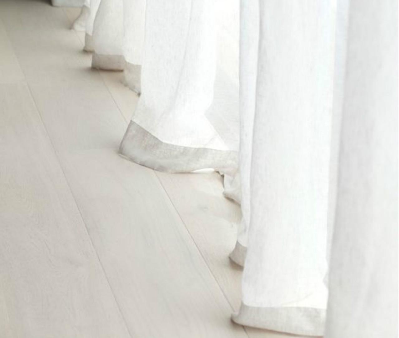 Fullsize Of White Sheer Curtains