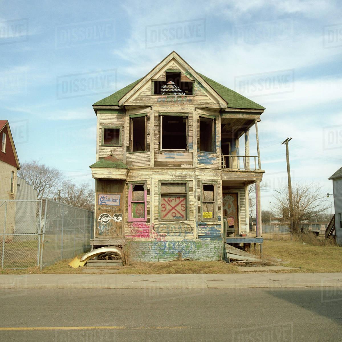 Fullsize Of Run Down House