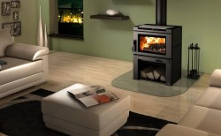 Small Of Modern Wood Burning Stove