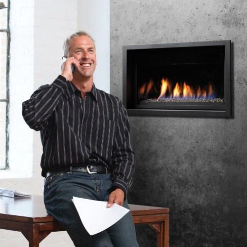 Medium Of Linear Gas Fireplace
